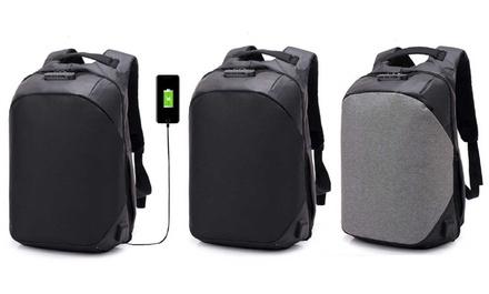 Anti-Theft USB Port Backpack