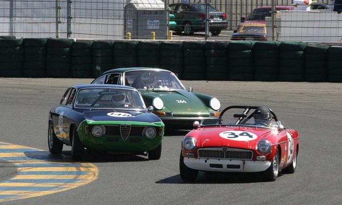 Classic Sports Racing Group - San Francisco: Classic Sports Racing Group Event at Sonoma Raceway on April 5 and 6 (Up to 52% Off)