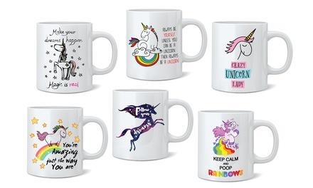 Unicorn Mugs in Choice of Design