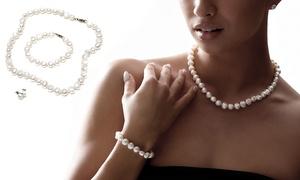 Déstockage: Parure perles
