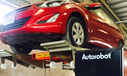 Brake Service for One or Two Axles, Diagnostics or Pre-Purchase Inspection at Aarya Auto Repairs (Up to 54% Off)