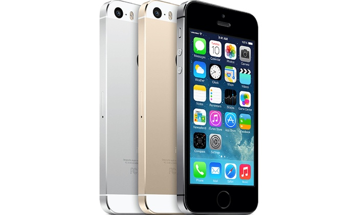 Apple iPhone 5S reconditionn dbloqu tout oprateur capacit et coloris au choix dès 269€ livraison offerte