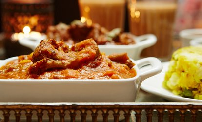 image for Indian Meal with Rice or Naan for Two or Four at at Gazi's Indian Restaurant (Up to 44% Off)