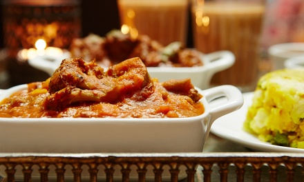 Indian Feast with Drink for Two $49, Four $95 or Six People $139 at Curry n Cask Up to $291 Value