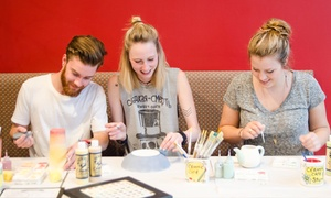 Ceramic Cafe Studio - Toutes les succursales: Ceramic Painting Workshop with Drinks for Two or Four at Céramic Café Studio (Up to 58% Off), 5 Locations