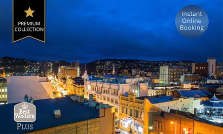 Launceston: Up to 3 Nights or 4 People with Breakfast, Late CheckOut and Parking at 4.5Star Best Western Plus