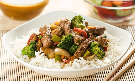 $18 Off $35 Worth of Asian Fusion
