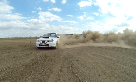 Up to 20 Laps of Rally Driving at Langley Park Rally School (Up to 69% Off)