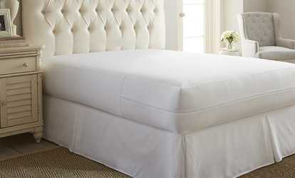 image placeholder image for merit linens zippered bed bug and spillproof mattress protector