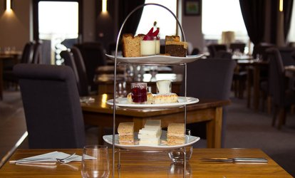 image for Afternoon Tea for Two with Optional Glass of Wine for Two or Four at Oak Royal Hotel Golf & Country Club (50% Off)