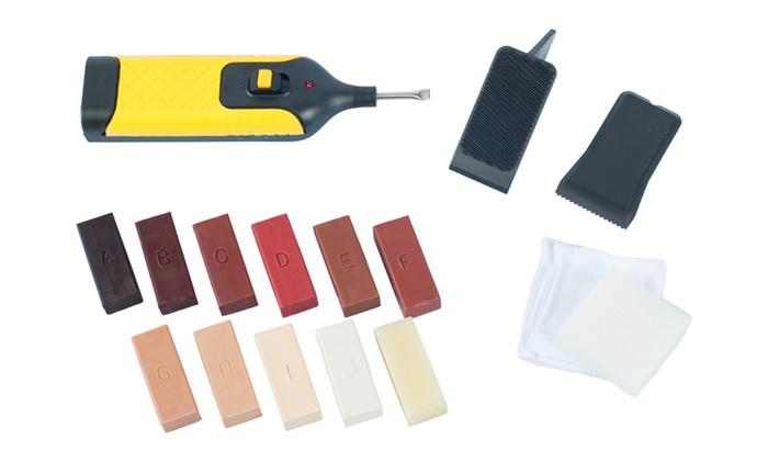 Kit riparazione pavimenti in laminato groupon goods