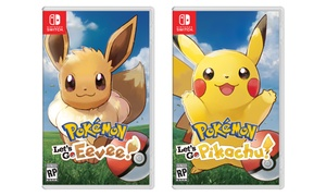 Pokémon: Let's Go, Eevee! or  Let's Go, Pikachu! for Nintendo Switch