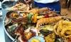 Menú de gastronomía de mar para 2