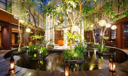 Bali, Kuta: 3, 5 or 7 Nights for 2 with Breakfast, Airport Transfer and Optional Dinner at 4* Swiss-Belhotel Rainforest