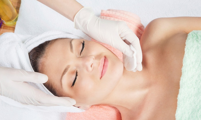 Bellus Academy - Bellus Academy of Beauty & Spa - Poway location: Resurgence or Pomegranate Facial with Optional Lip and Eye Treatment at Bellus Academy (Up to 51% Off)