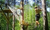 Northwoods Zip Line Adventure Tours - Suamico: Packages at Northwoods Zip Line Adventure Tours (Up to 37% Off). Two Options Available.