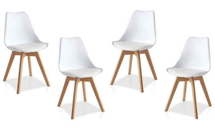 Scandinavisch Design Stoelen.Stoelen Scandinavische Design Groupon Goods
