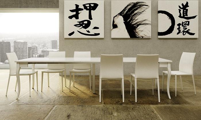 Tavolo consolle allungabile groupon goods for Consolle group design