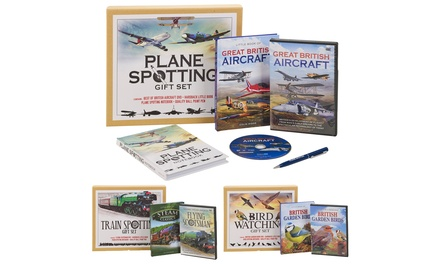 Hobby DVD and Book Gift Set