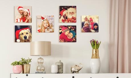 3, 4, 6 o 9 foto-azulejos personalizables en Printerpix