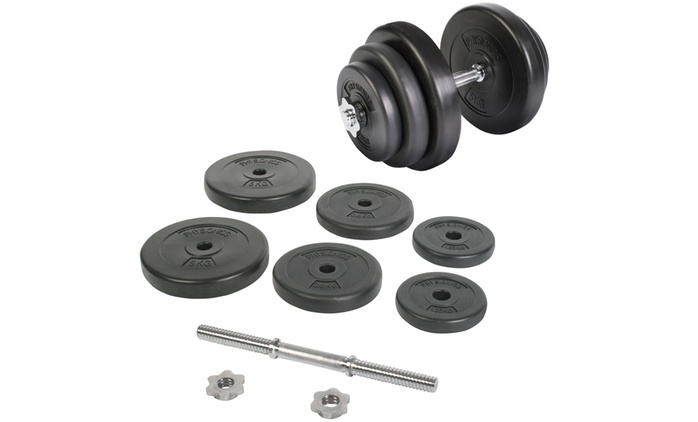 One (€24.99) or Two (€46.99) 20kg Dumb-Bell Sets With Free Delivery (Up to 22% Off)