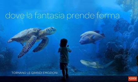 Ingresso all'Acquario di Livorno a 10€euro