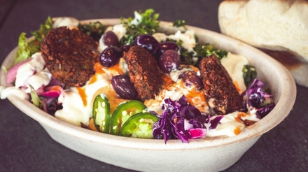 Mediterranean Dinner for Two or Four at Trio Modern Mediterranean Selma (Up to 40% Off). Two Options Available.
