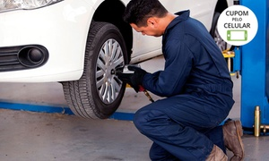 Point Car Centro Automotivo: Point Car – Bosque dos Eucaliptos: alinhamento, balanceamento, rodizio de pneus, check-up de suspensão e freio e mais