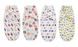 Couverture d'emmaillotage bébé