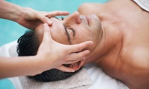 Baobá - Villa Marín: Tratamiento facial para hombres con opción a exfoliación de espalda desde 22,95 € en Baobá - Villa Marín