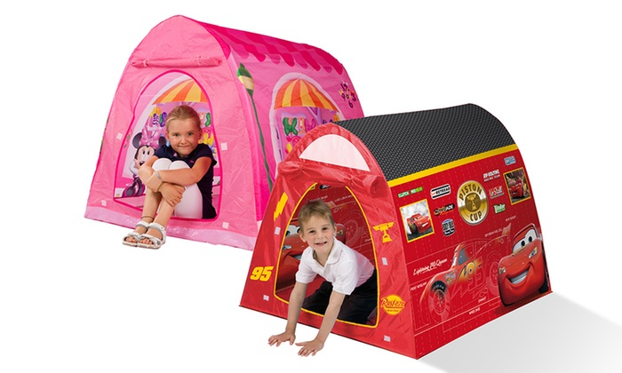 tente minnie cars jeux de r les groupon shopping. Black Bedroom Furniture Sets. Home Design Ideas