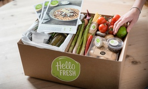 HelloFresh Australia: From $29 for a Weekly Box of Cook-at-Home Meals plus FruitBox from HelloFresh, Redeemable Online (From $90 Value)