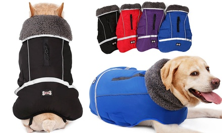 for Waterproof Thick Warm Dog Coat with Reflectors in Six Sizes