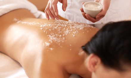 Body Salt and Oil Exfoliating Scrub, Body Wrap or Both at Obedient Beauty