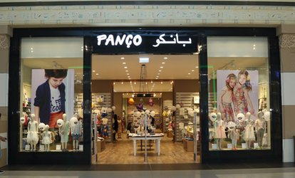 Up to AED 300 to Spend at Panço (50% Off)