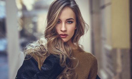 Wash, Cut, Blow Dry and Conditioning with Optional Highlights or Colour at Anna Maria Beauty and Styling (Up to 56% Off)