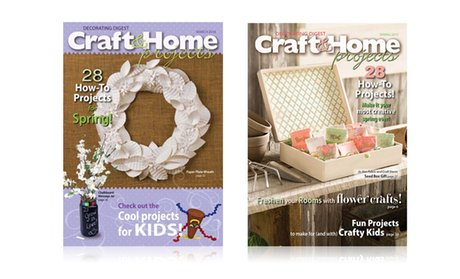 1-Year, 4-Issue Subscription to Decorating Digest Magazine