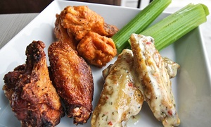 The Buffalo Company: Wings, Pizza, and Subs at The Buffalo Company (40% Off). Two Options Available.