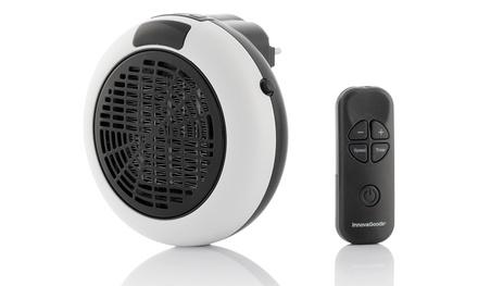 9c1257aabaed4 Mini calefactor cerámico con mando de Innovagoods