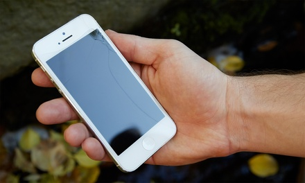 iPhone or iPad Screen Repairs at Talk N Fix (Up to 54% Off). 10 Options Available.
