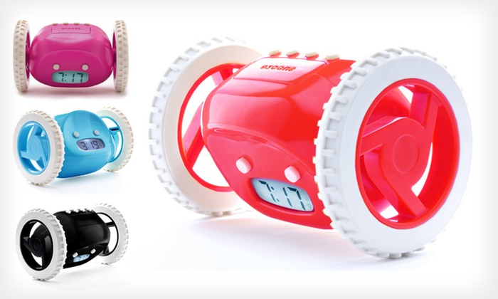 Clocky Runaway Alarm Clock: $25 for a Clocky Runaway Alarm Clock ($45 List Price). Six Colors Available.