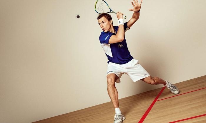 Squash Roma - Roma: 3 lezioni di squash singole o di coppia con istruttore federale da Squash Roma presso Club Lanciani (sconto fino a 70%)