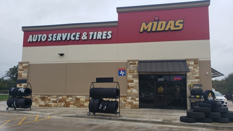 Synthetic-Blend, High-Mileage, or Full-Synthetic Oil Change with Tire Rotation at Midas (Up to 36% Off)