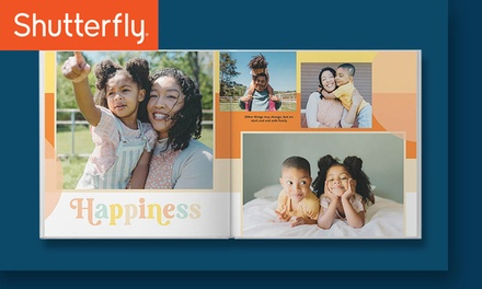 One Two, Three, or Five 8x8 Shutterfly Hardcover 20-Page Photo Books (Up to 84% Off). Four Options Available.