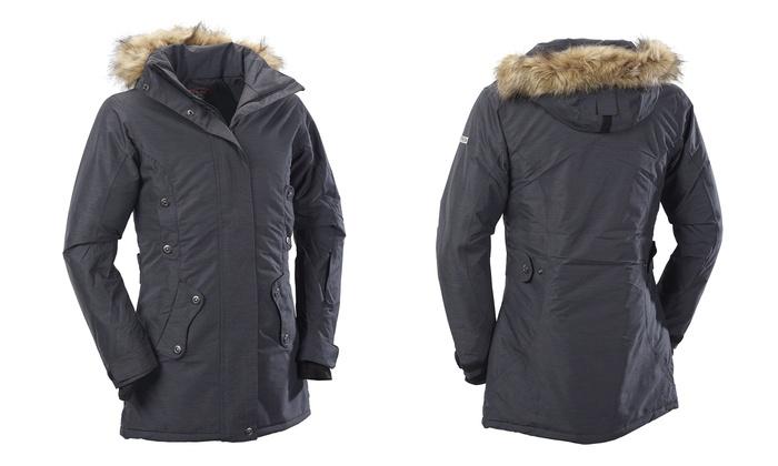 reputable site f36c2 ee938 Fifty Five Damen-Wintermantel Timmins in Anthrazit inkl. Versand für 89,90  € (64% sparen*)