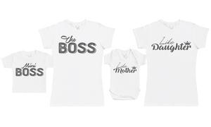 Duo t-shirt maman et bébé 100% coton