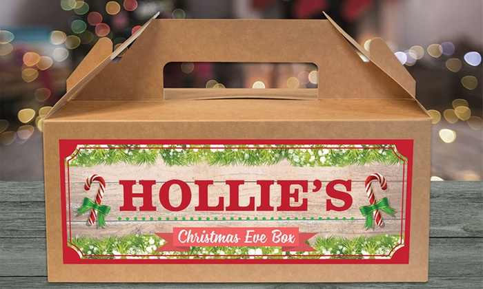 Personalised Gifts Market: Personalised Christmas Eve Gift Box: One ($6), Two ($10) or Four ($18) (Don't Pay up to $100)