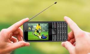 Kocaso Discover Cell Phone with Analog TV Antenna (GSM Unlocked)