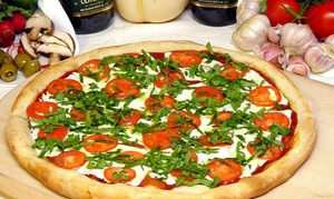 Famous Famiglia in Resorts Casino & Hotel Atlantic City: Handmade Pizza and Pasta at Famous Famiglia in Resorts Casino & Hotel Atlantic City (40% Off). Two Options.