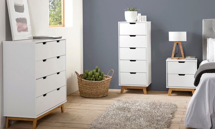 meuble de chambre nordique groupon shopping. Black Bedroom Furniture Sets. Home Design Ideas